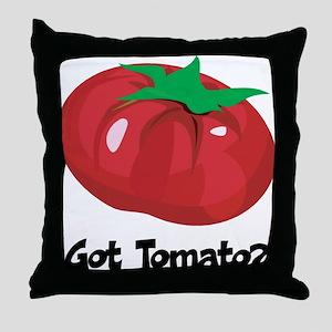 Got Tomato Throw Pillow