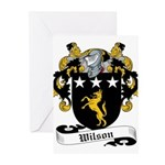 Wilson Coat of Arms Greeting Cards (Pk of 10)