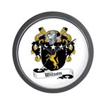 Wilson Coat of Arms Wall Clock