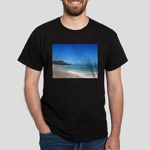 Waikiki Beach~XOXO HAWAII Dark T-Shirt