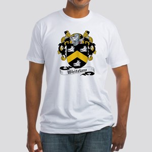Whitelaw Family Crests Fitted T-Shirt