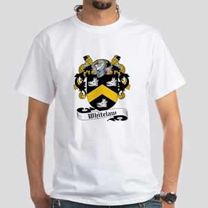 Whitelaw Family Crests White T-Shirt