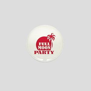 Full Moon Party Mini Button
