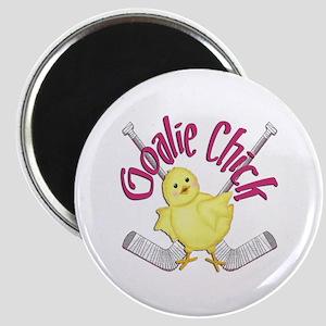 Goalie Chick Magnet