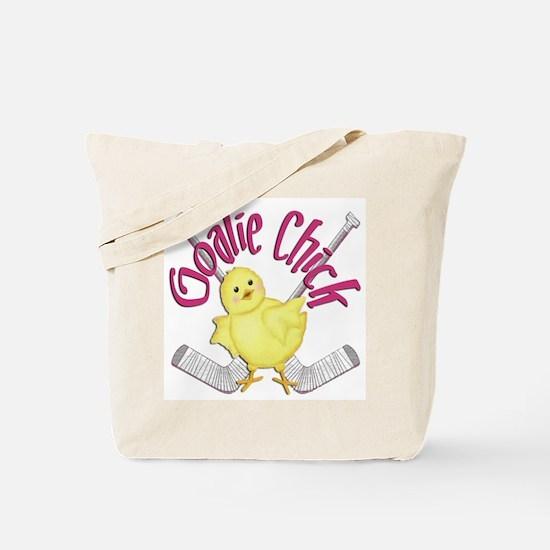 Goalie Chick Tote Bag