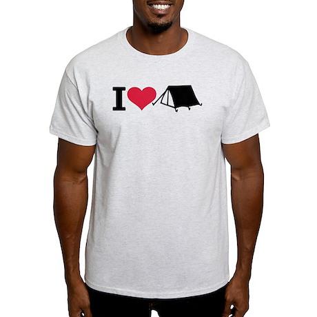 I love camping - tent Light T-Shirt