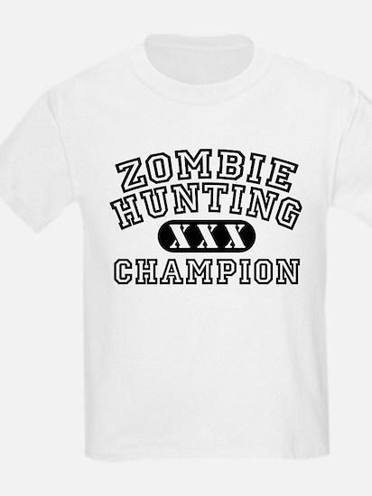 Zombie Hunting Champion T-Shirt