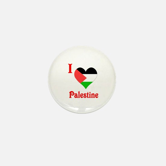I Love Palestine #5 Mini Button