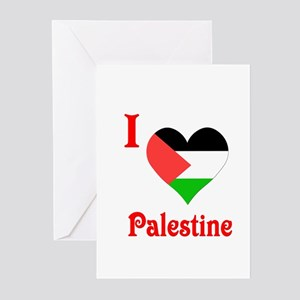 I Love Palestine #5 Greeting Cards (Pk of 20)
