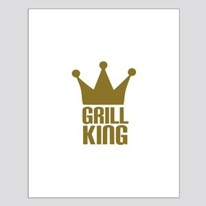 BBQ - Grill king Small Poster