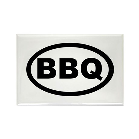 BBQ Rectangle Magnet