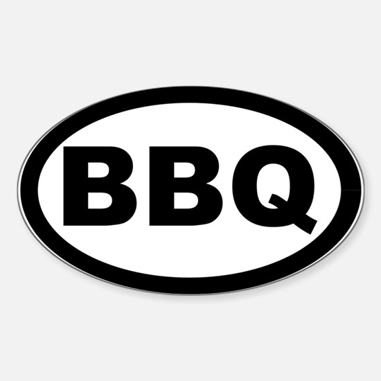 BBQ Sticker (Oval)