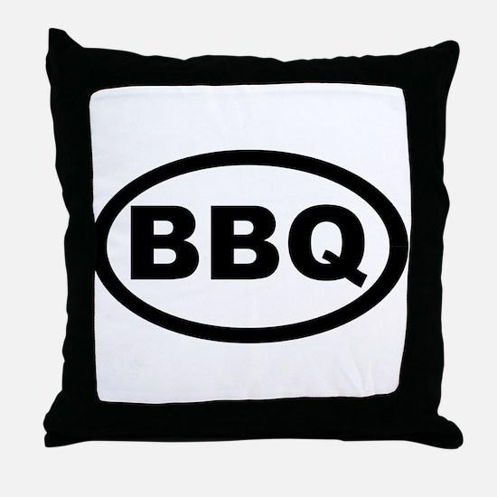 BBQ Throw Pillow