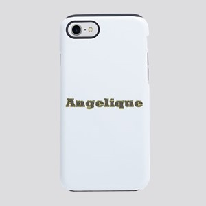 Angelique Gold Diamond Bling iPhone 7 Tough Case