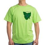 Tasmanian Masons Green T-Shirt