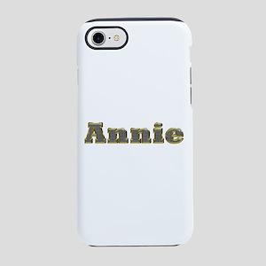 Annie Gold Diamond Bling iPhone 7 Tough Case