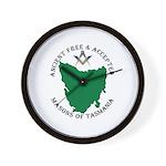 Tasmanian Masons Wall Clock