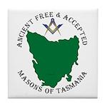 Tasmanian Masons Tile Coaster