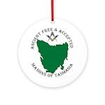 Tasmanian Masons Ornament (Round)