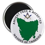 Tasmanian Masons Magnet
