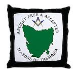 Tasmanian Masons Throw Pillow