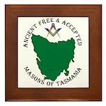 Tasmanian Masons Framed Tile