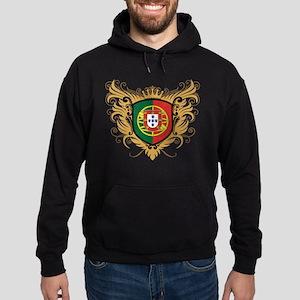 Portugal Crest Hoodie (dark)