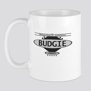 Stylish Budgie Mug