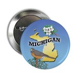 MICHIGAN 2.25 in. Button (10 pack)