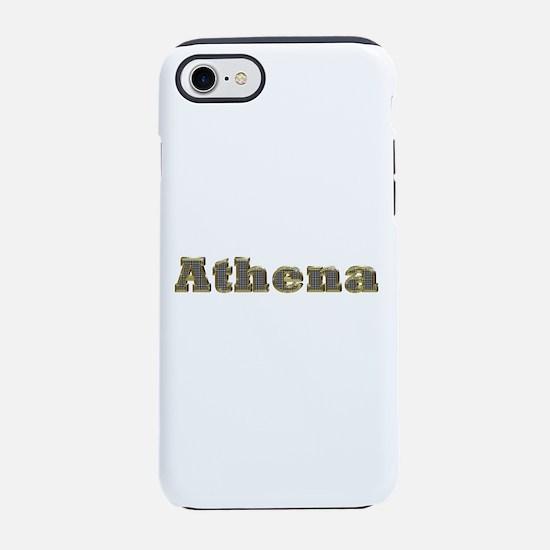 Athena Gold Diamond Bling iPhone 7 Tough Case