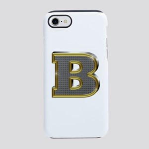 B Gold Diamond Bling iPhone 7 Tough Case