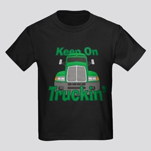Keep On Truckin Kids Dark T-Shirt