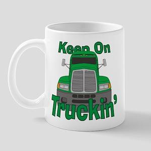 Keep On Truckin Mug