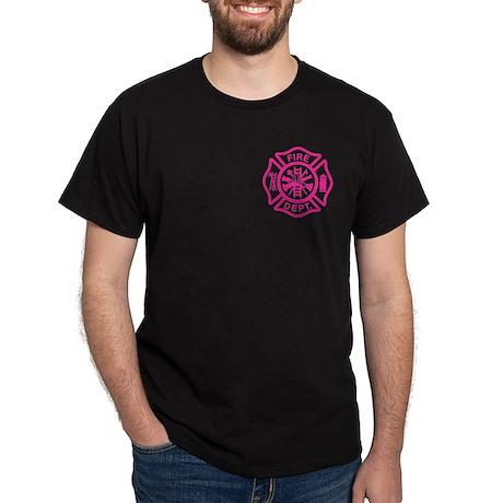 Female Firefighter Dark T-Shirt