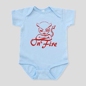 On Fire Infant Bodysuit