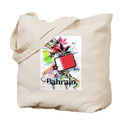Flower Bahrain Tote Bag