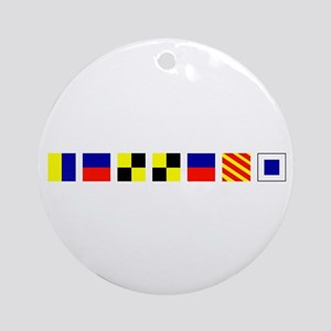 Kelleys Island Ornament (Round)