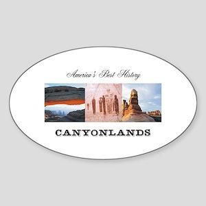 ABH Canyonlands Sticker (Oval)