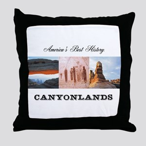 ABH Canyonlands Throw Pillow