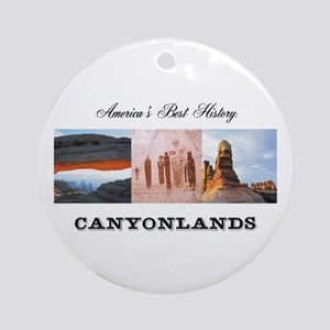 ABH Canyonlands Round Ornament