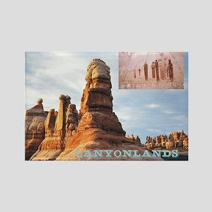 ABH Canyonlands Rectangle Magnet