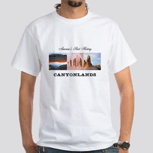 ABH Canyonlands White T-Shirt