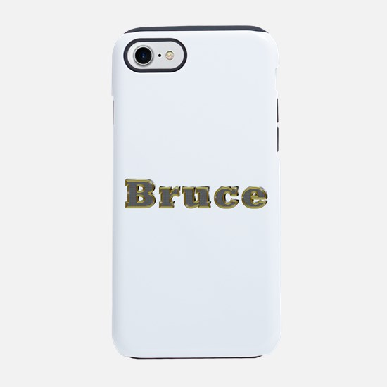 Bruce Gold Diamond Bling iPhone 7 Tough Case
