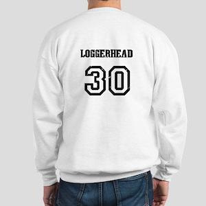 BACK - LEATHERBACK # 50 Sweatshirt