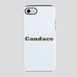 Candace Gold Diamond Bling iPhone 7 Tough Case