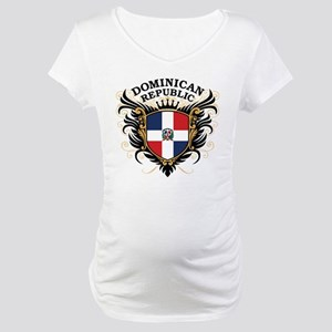 Dominican Republic Maternity T-Shirt