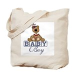 Baby Boy Teddy Bear Tote Bag