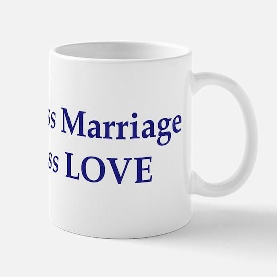 Second-Class Marriage Mug