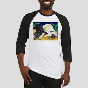 Pug Play Baseball Jersey