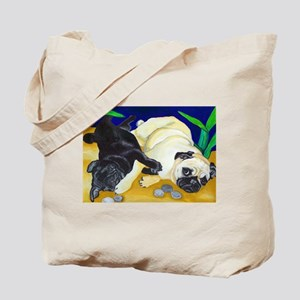 Pug Play Tote Bag